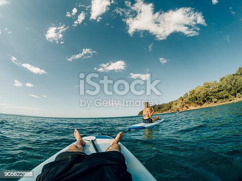 istock Relaxing in the Sea 905622988
