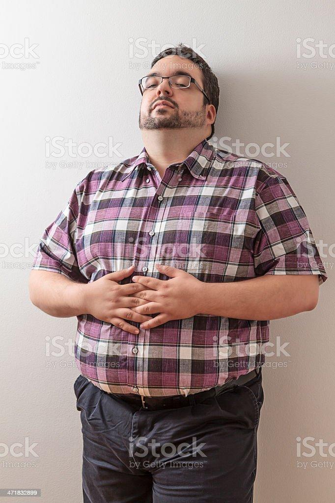 Relaxing man royalty-free stock photo