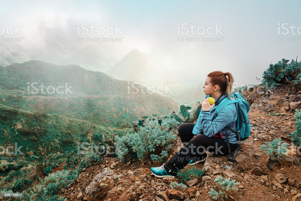 relaxing moment stock photo