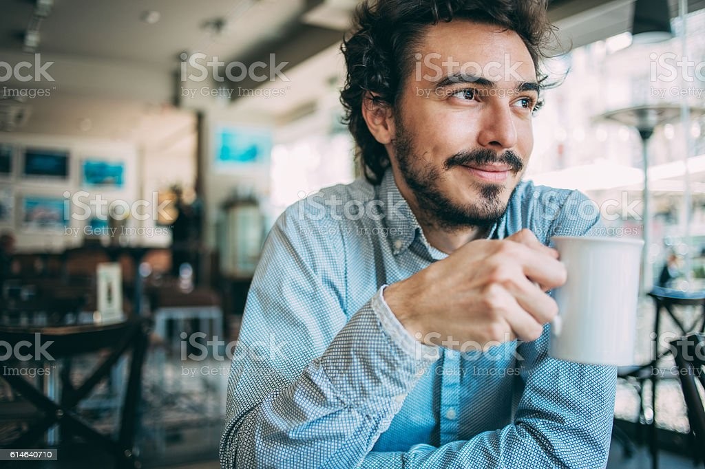 Relaxing moments stock photo