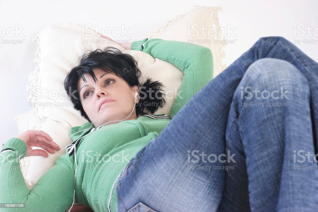 Relaxing music royalty-free stock photo
