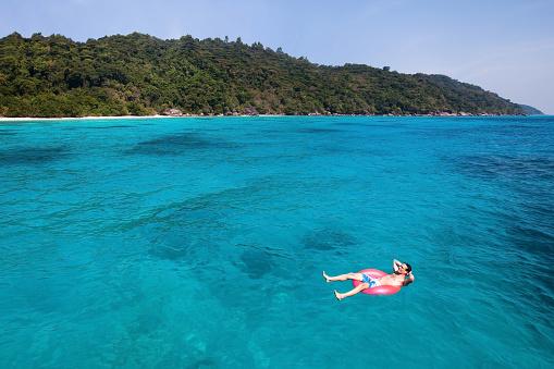 506662064 istock photo relaxing on paradise beach 496356504