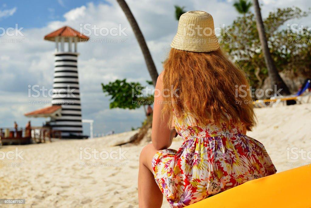 Relax en la playa en República Dominicana - foto de stock