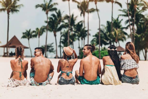 Entspannung am Strand – Foto