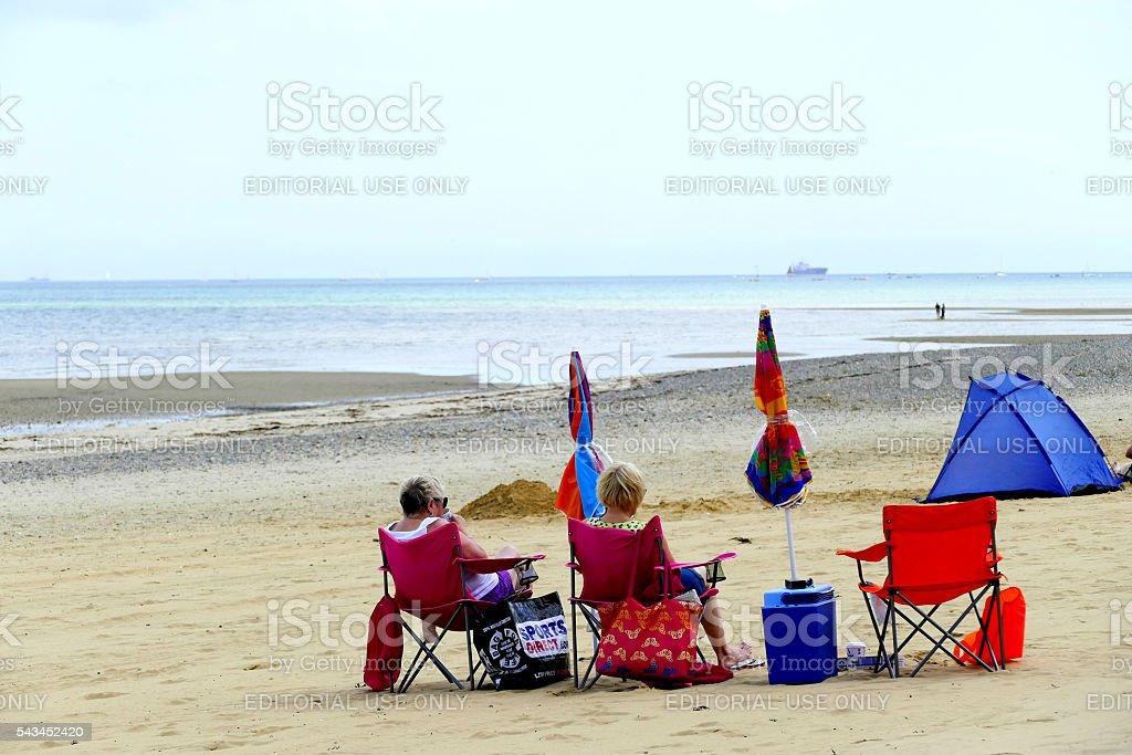 Relaxing. stock photo