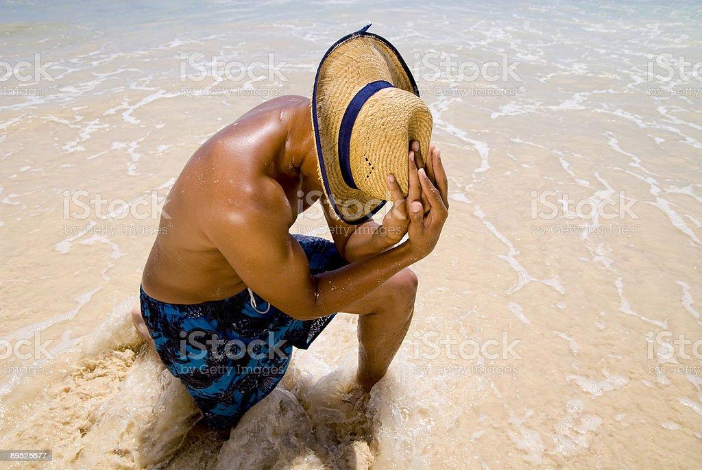 Entspannende Lizenzfreies stock-foto
