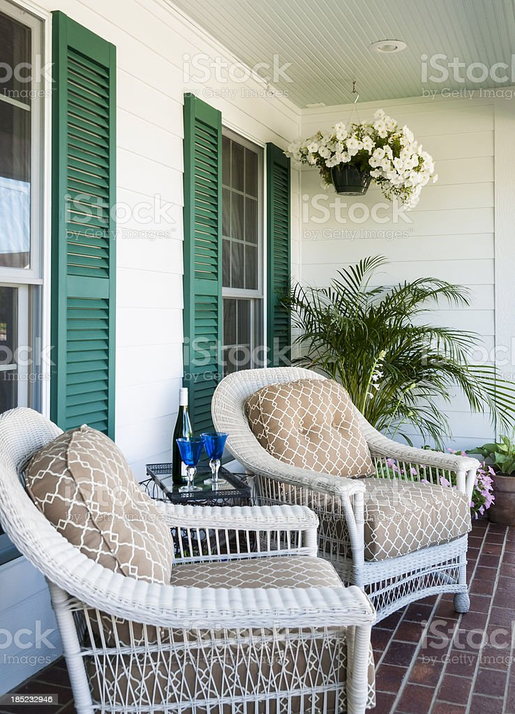 Relaxing Porch royalty-free stock photo