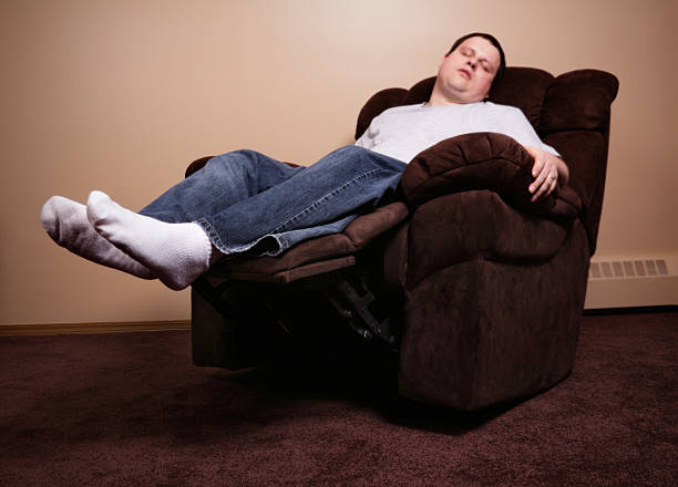 Royalty Free Man In Recliner Pictures Images And Stock