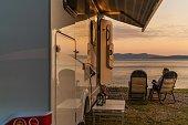 istock Relaxing RV Park Spot 1187162433