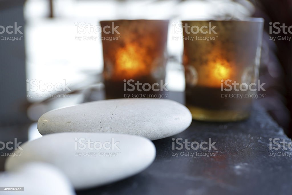 Relaxing spa royalty-free stock photo