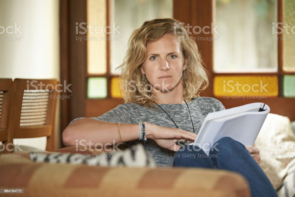 Relaxing time is reading time royalty-free stock photo