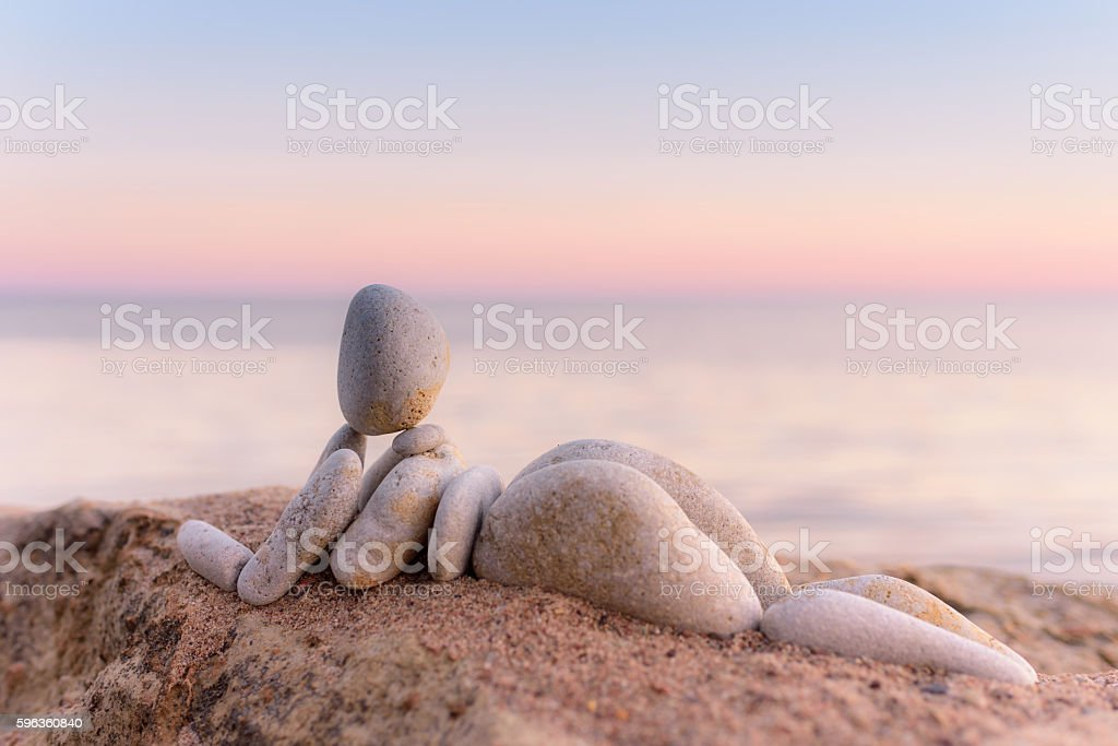 Relaxing time outdoors royalty-free stock photo