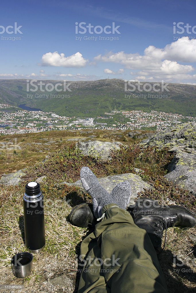 Relaxing view royalty-free stock photo