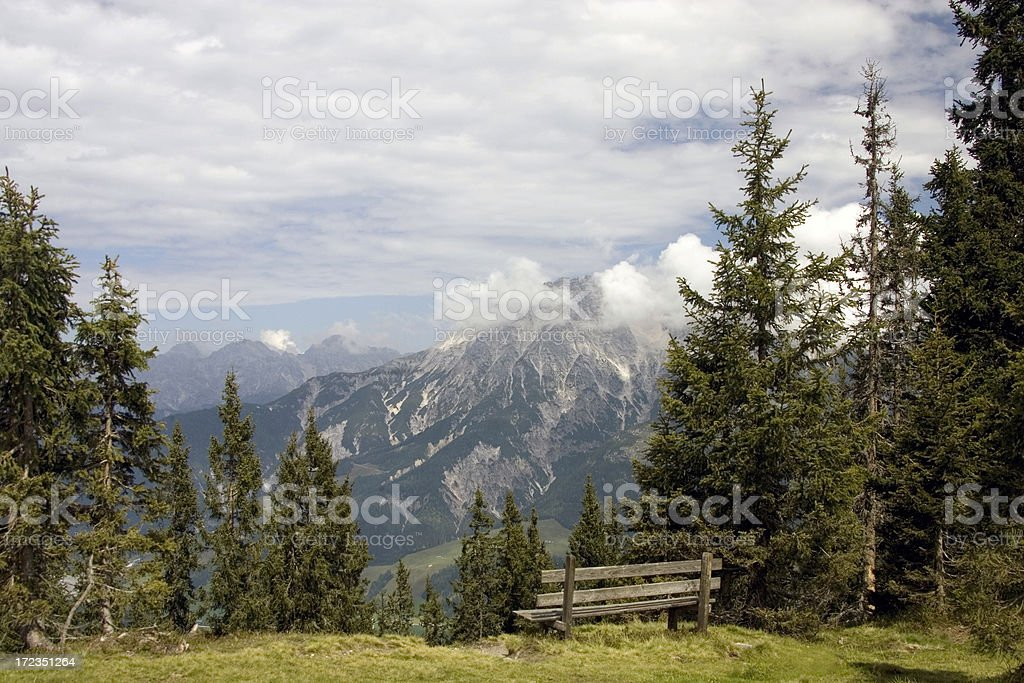 relaxing view point royalty-free stock photo