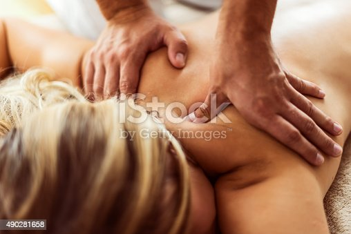 525211834 istock photo Relaxng back massage 490281658