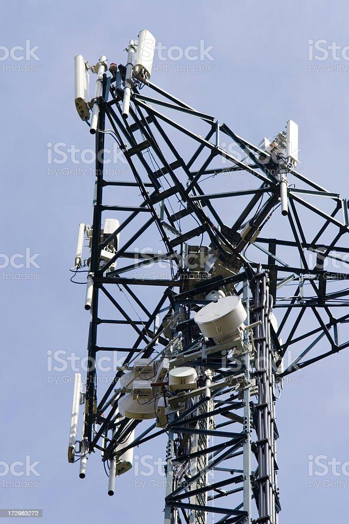 Relay mast. royalty-free stock photo