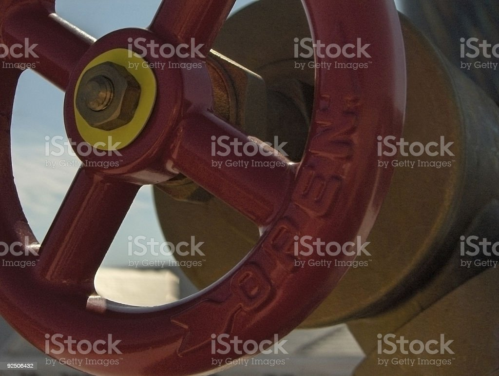 Release Valve royalty-free stock photo