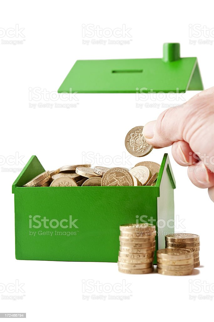 Releasing Home Equity stock photo