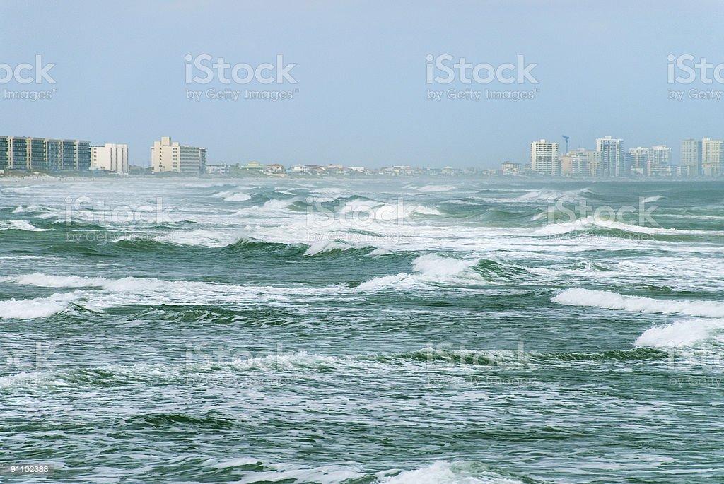 Relentless Surf stock photo