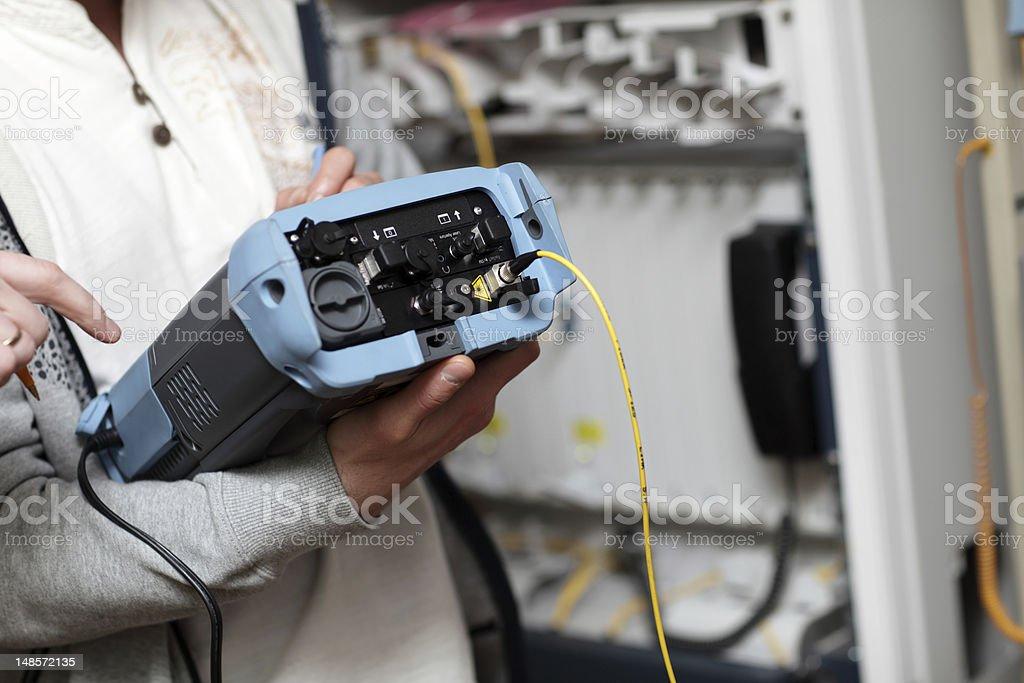 Reliability measurement stock photo