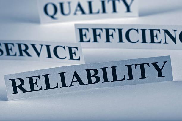 Reliability stock photo