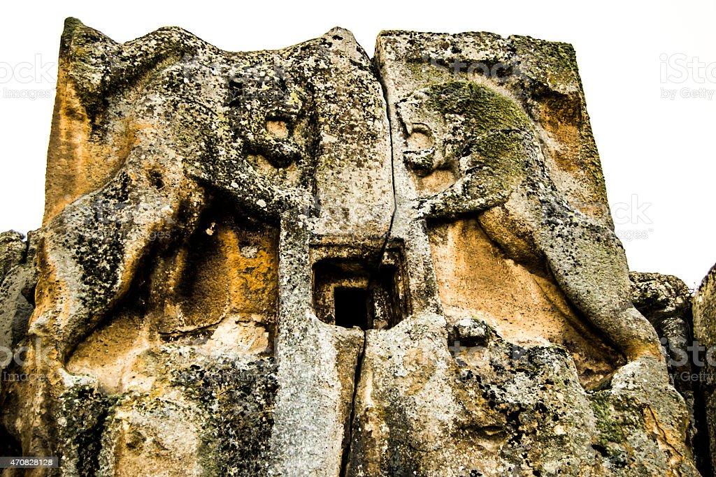 Relic Stone stock photo