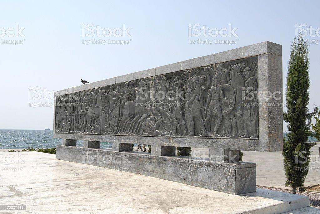 Alívio do Triunfo de Alexander - foto de acervo