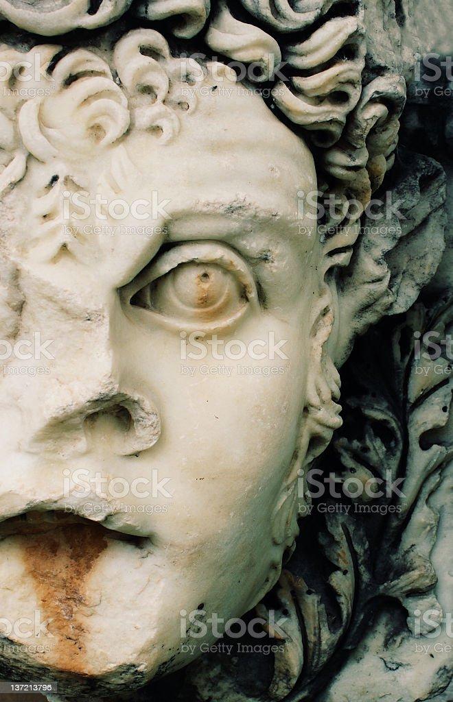 Relief of Aphrodisias royalty-free stock photo