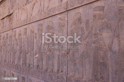 Persepolis, Iran, Built Structure, Monument, Sculpture, Faravahar, Symbol, Zoroastrianism,