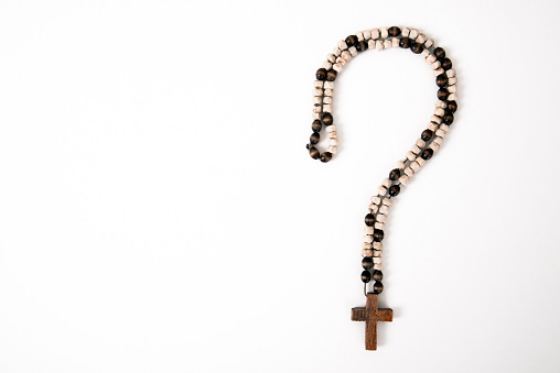 religion and the question mark