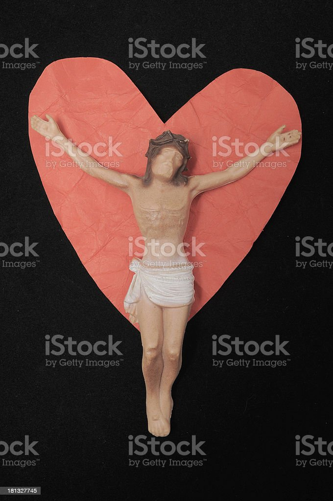 Religion and Love royalty-free stock photo