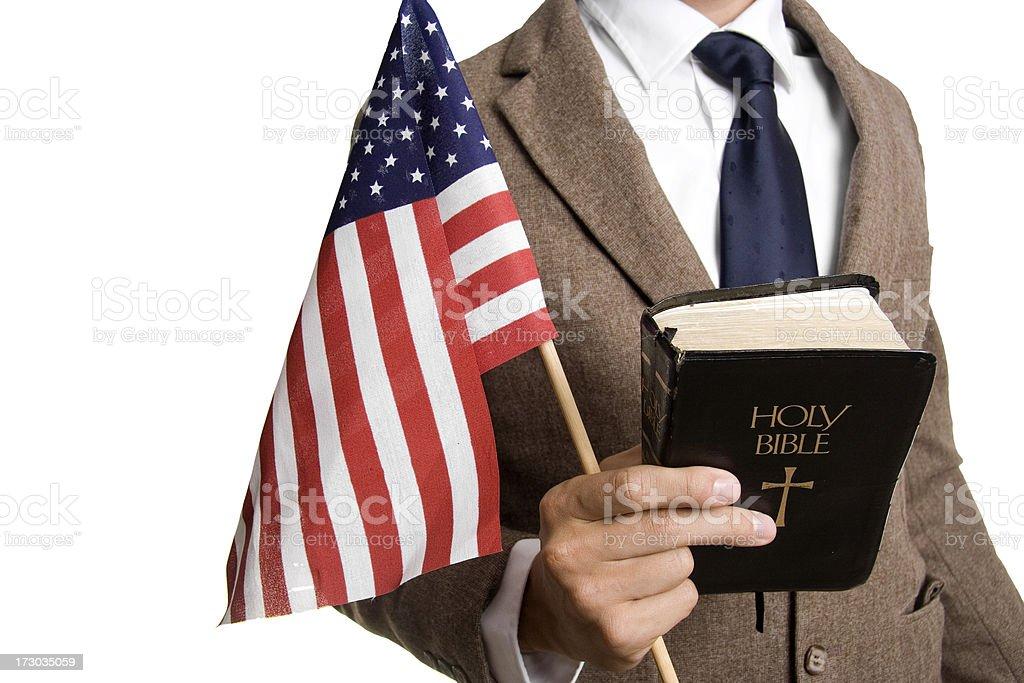 Religion and Politics stock photo