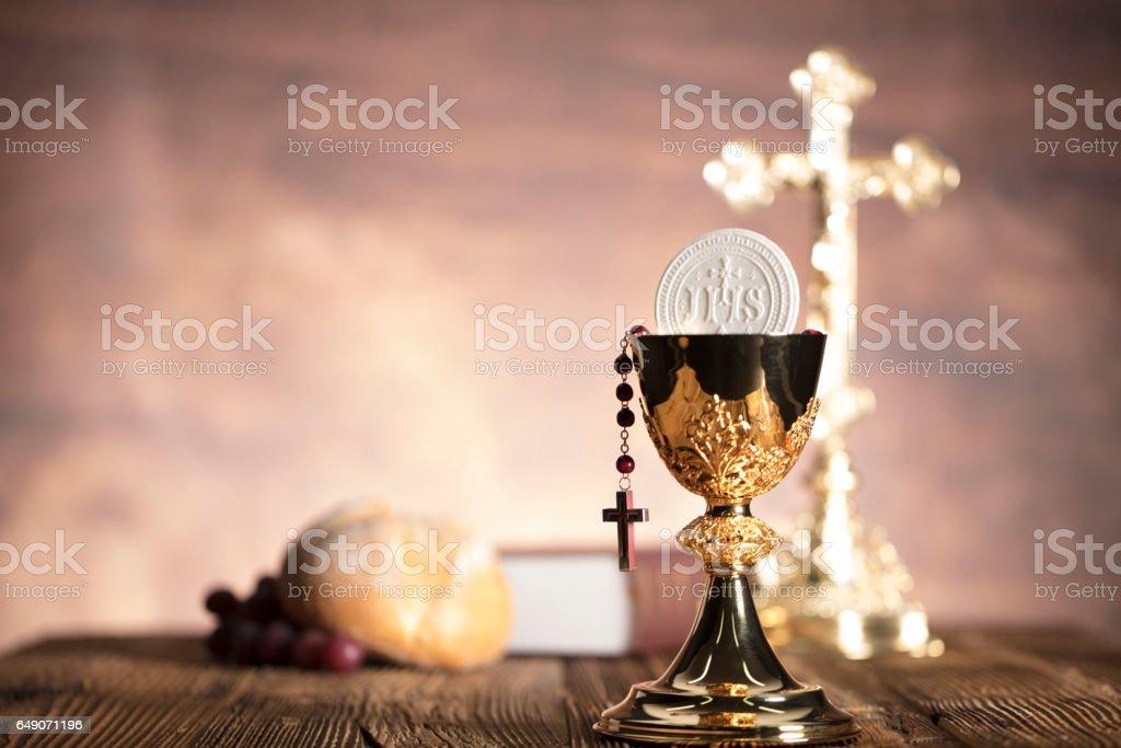 Religion. Christianity theme. stock photo