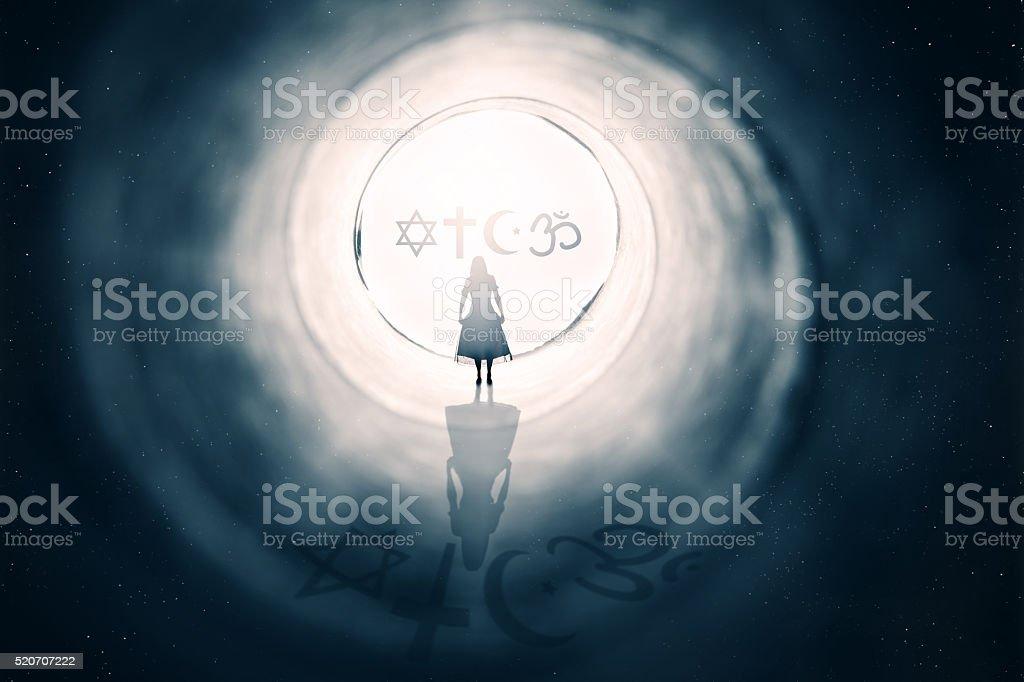 Religion Concept stock photo