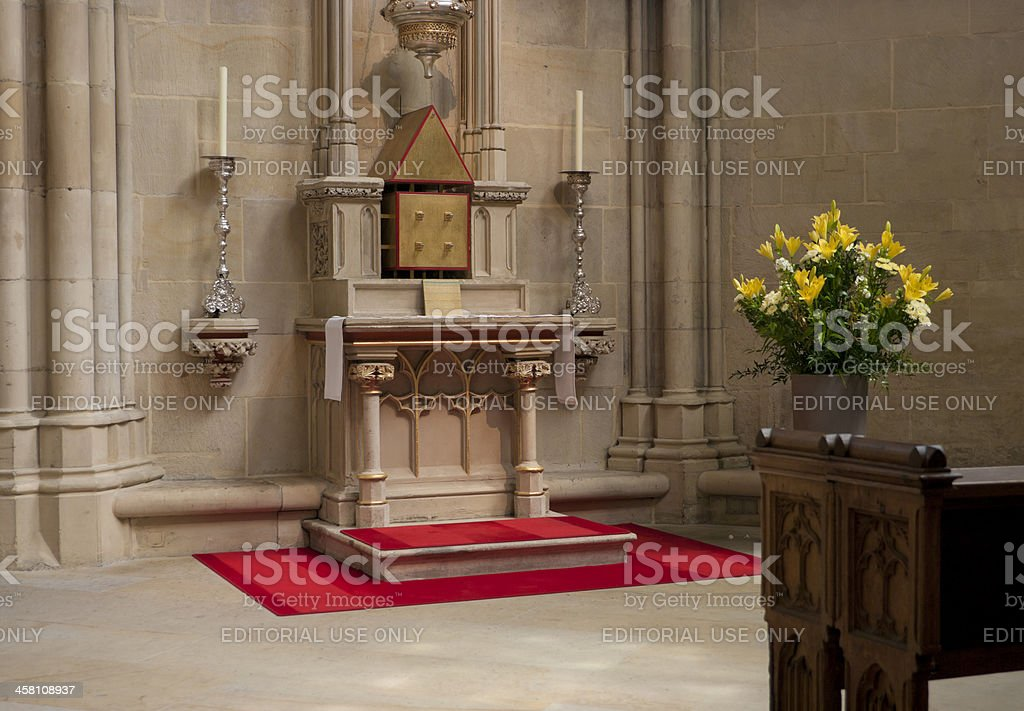 religious altar royalty-free stock photo