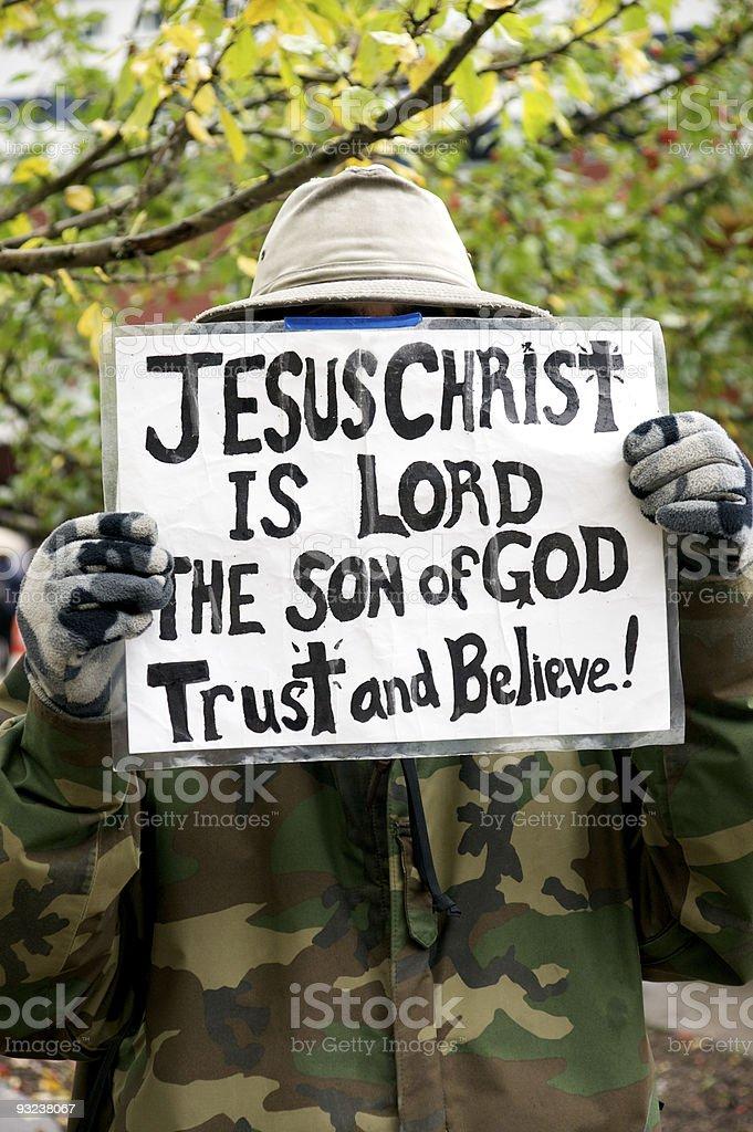 religious belief royalty-free stock photo