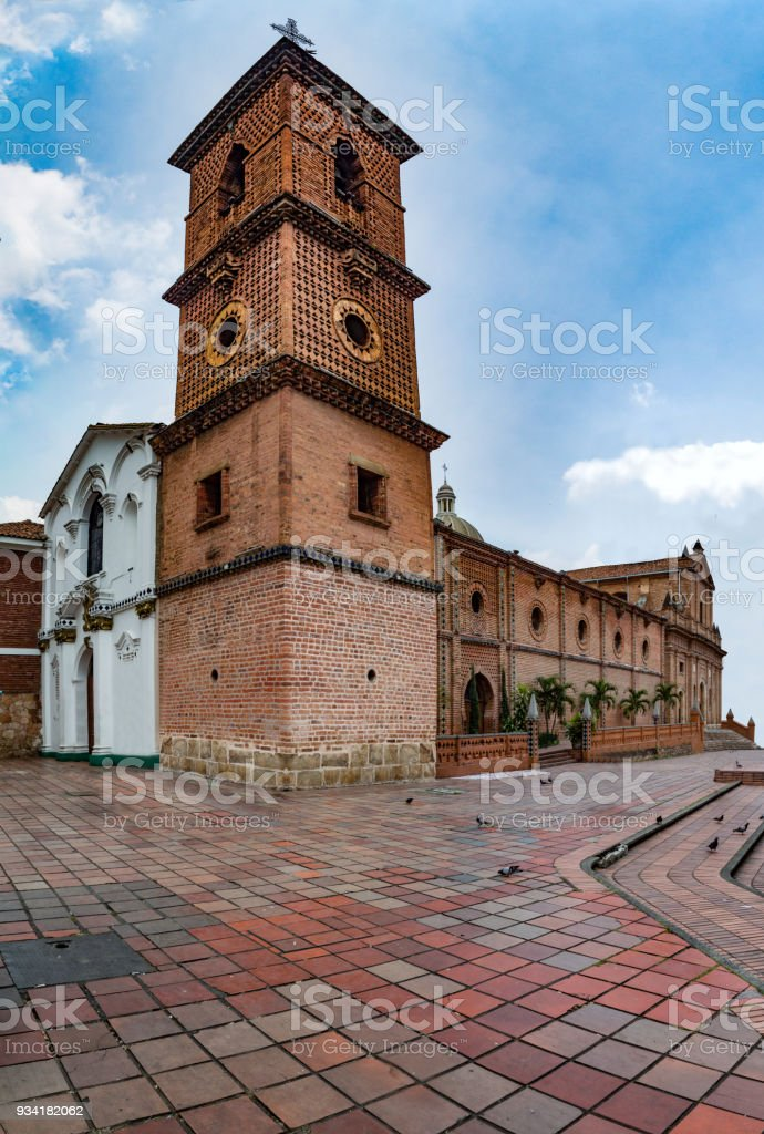 Religious complex of San Francisco (Cali) stock photo