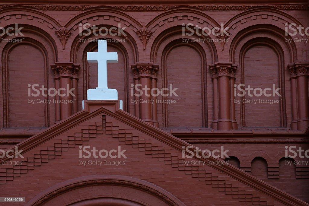 Religious cross royalty-free stock photo