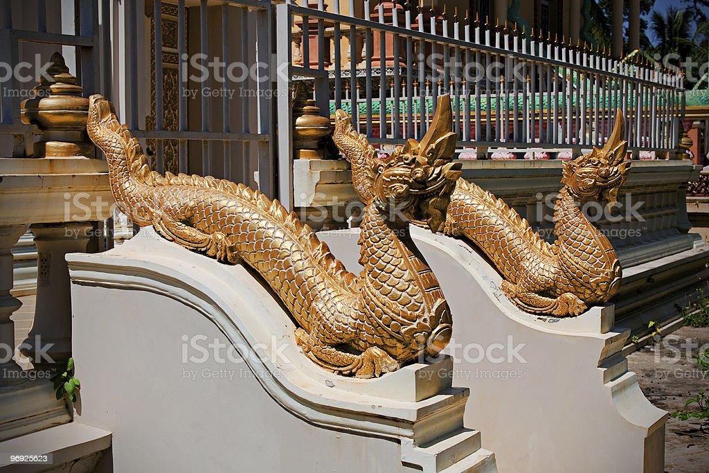 Religious Dragons royalty-free stock photo