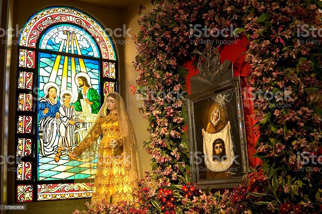 Religious imagery stock photo