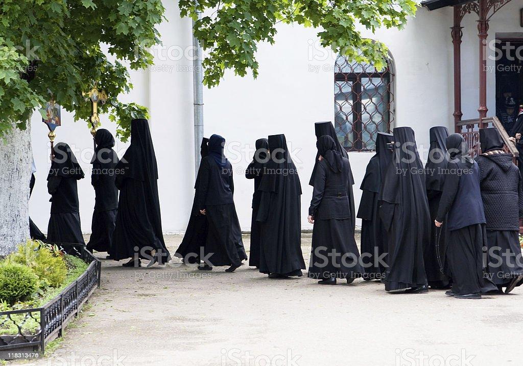 religious procession stock photo
