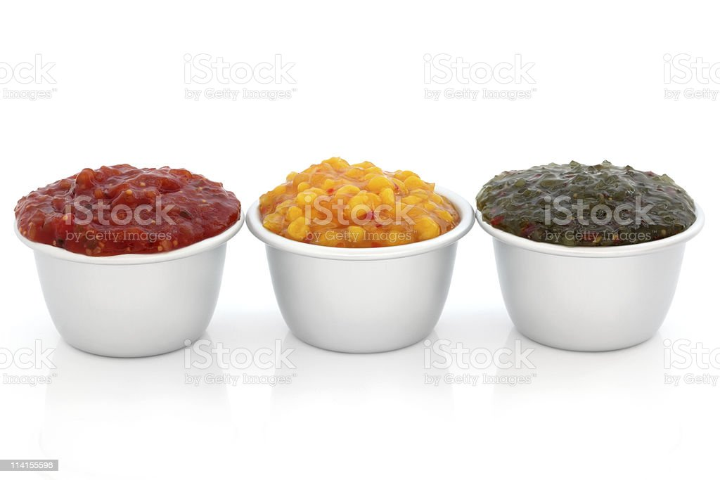 Relish Selection royalty-free stock photo