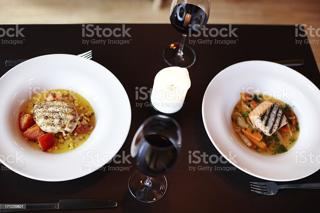 Relish the flavour royalty-free stock photo
