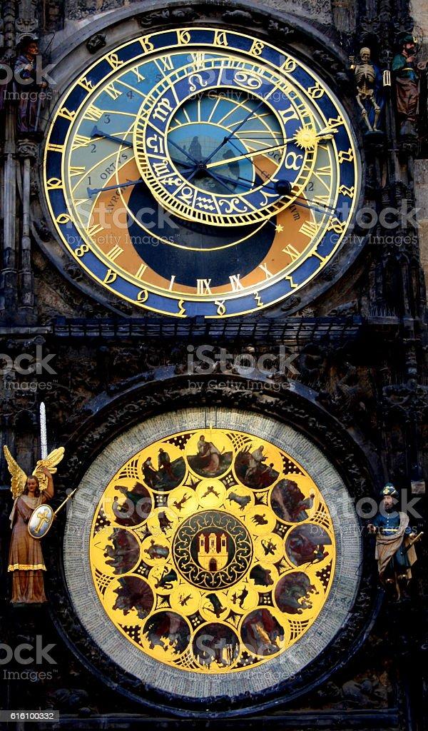 Reloj Astronomico - foto de stock