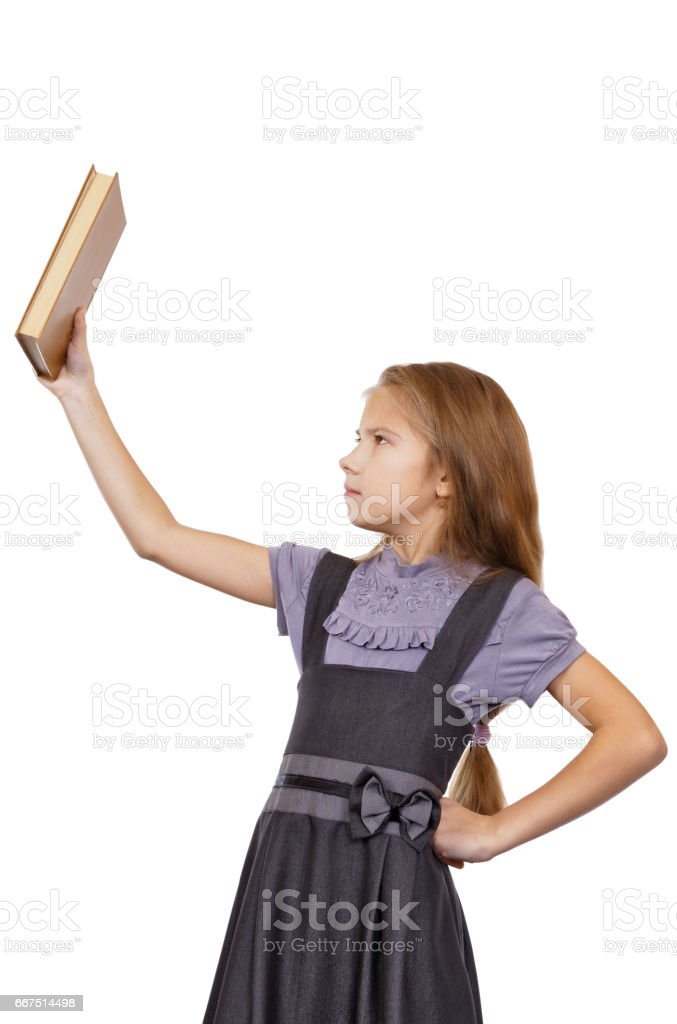 Reluctance to read a book, do homework foto stock royalty-free