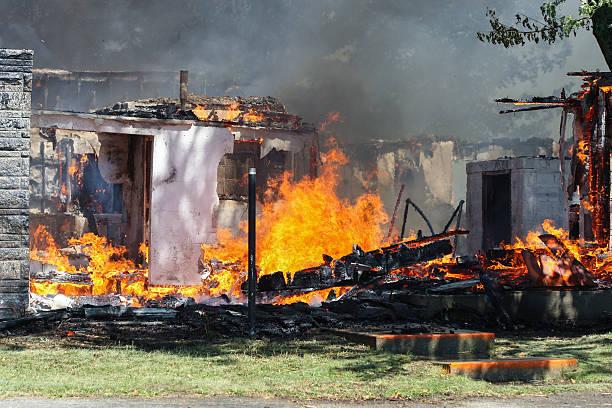 Überreste kontrollierten Training verbrennen – Foto
