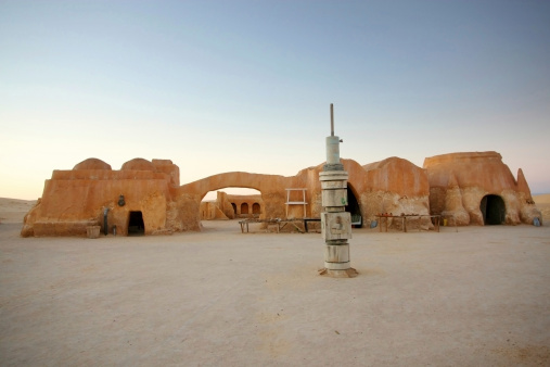 Remains Of Film Star Wars In Ong Jemel Stock Photo - Download Image Now