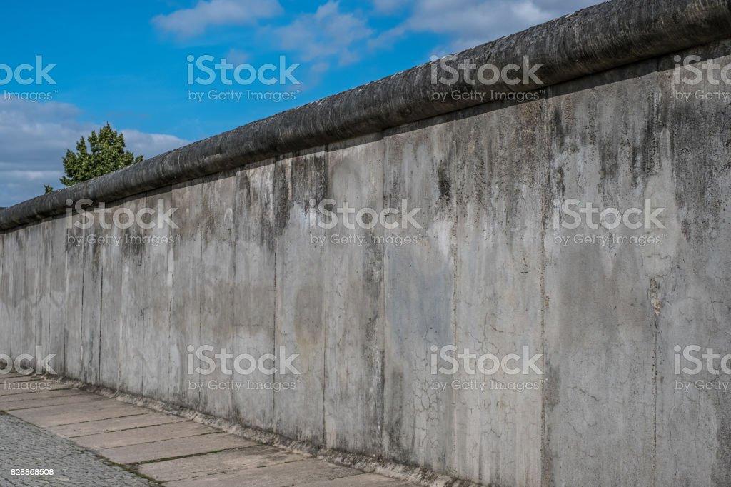 Reste der Berliner Mauer / Gedenkstätte Berliner Mauer – Foto