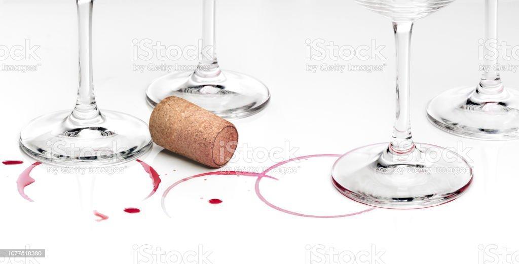 Restes du goût vin - Photo