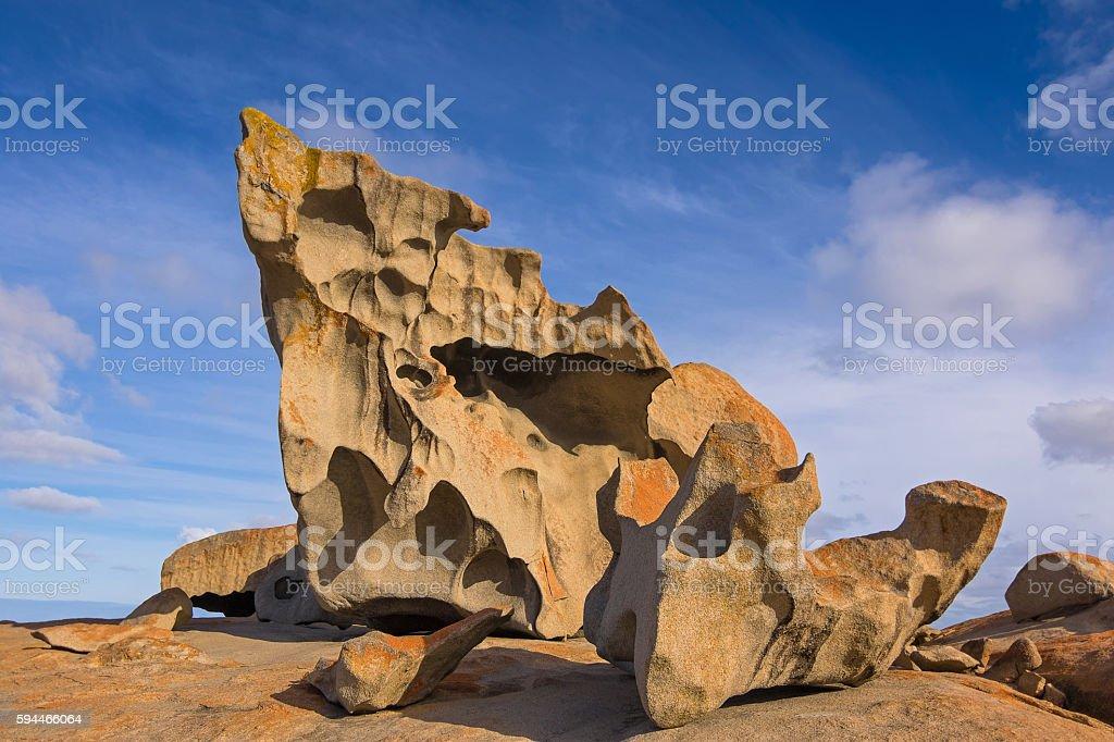 Remarkable Rocks at Flinders Chase National Park, Kangaroo Island stock photo